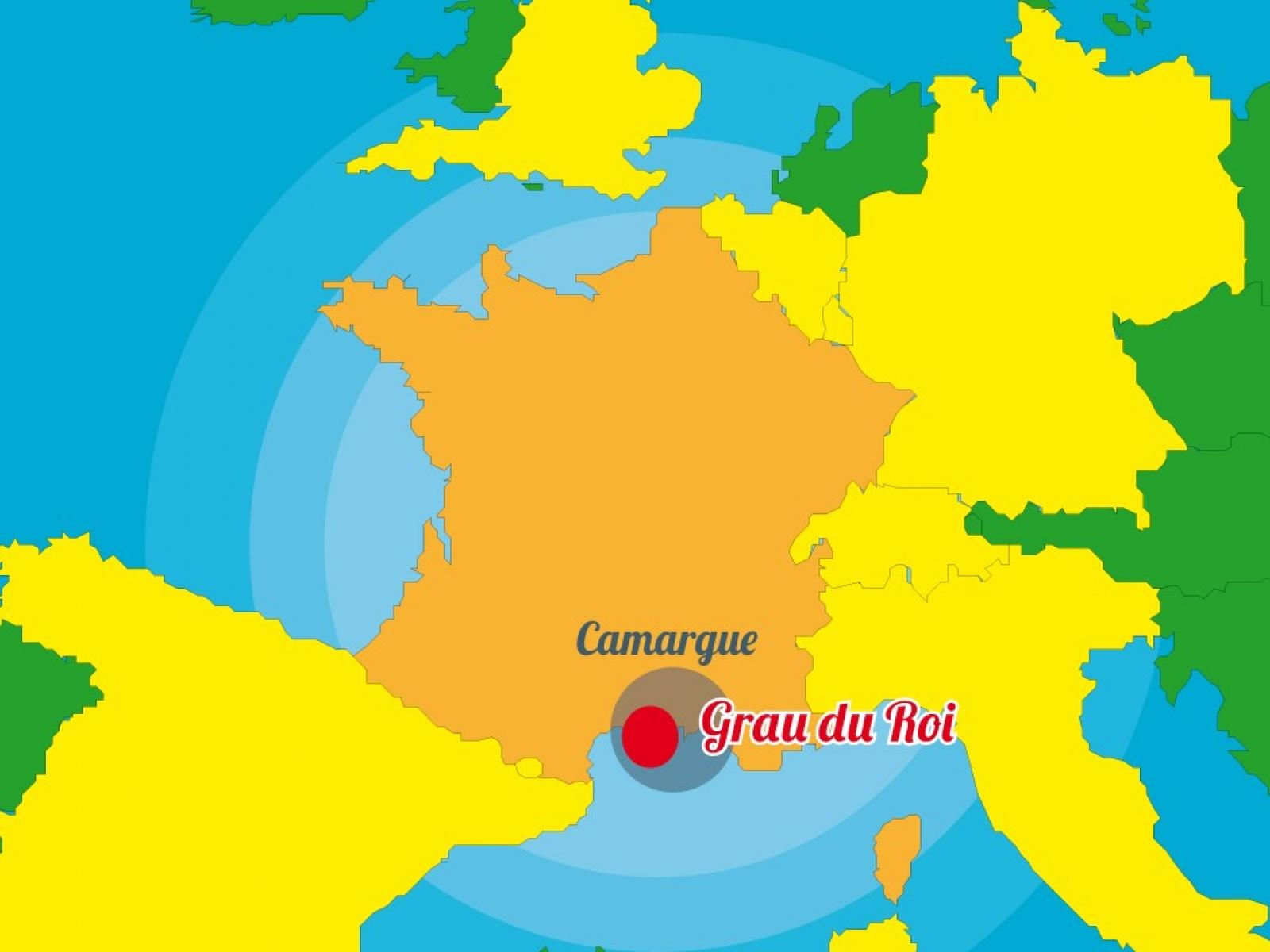 Itin raire et plan d 39 acc s for Plan grau du roi